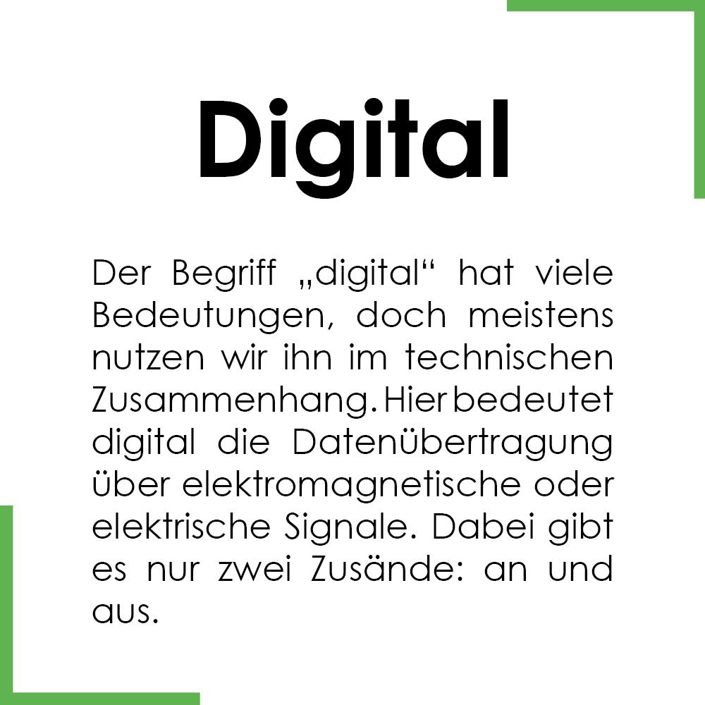 Begriff des Monats: Digital