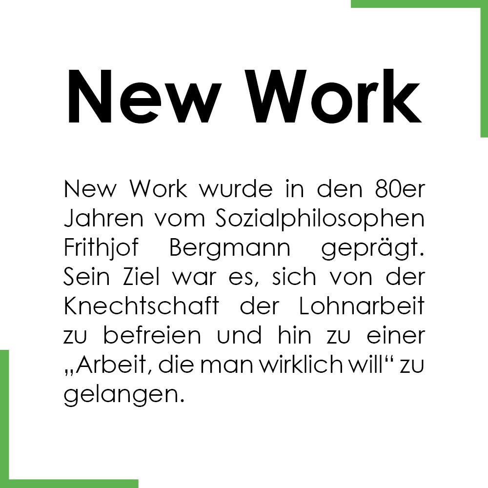 Begriff des Monats: New Work