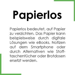 Begriff des Monats: Papierlos